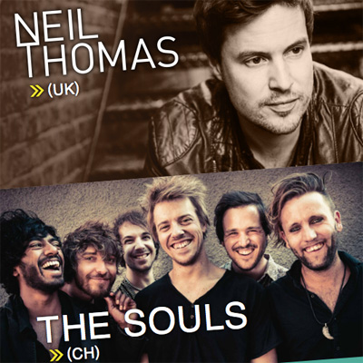 Neil Thomas und The Souls Ticketverlosung