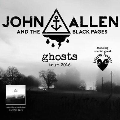 "John Allen auf ""Ghosts""-Tour"
